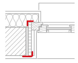 Luftdichtung innen im mauerwerksbau wissen wiki - Schnitt eines fenstereinbau nach ral montage ...